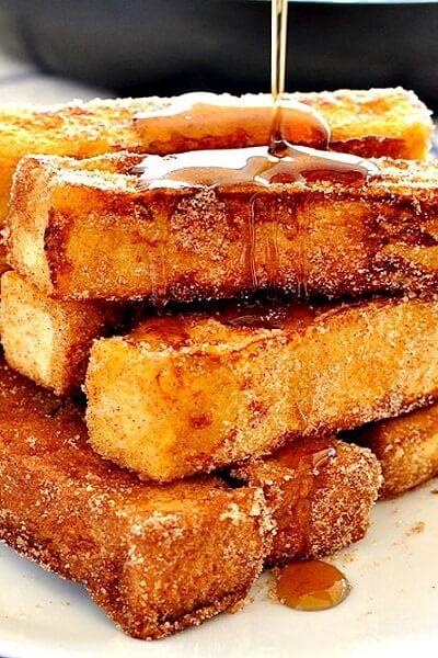 Жаренный сыр с медом