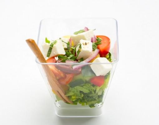 Греческий салат verrine