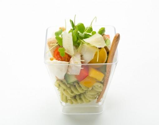 Итальянский салат с пармезаном
