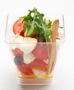 Триколор салат verrine
