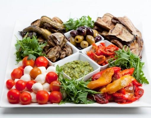 Вегетарианская антипаста ассорти