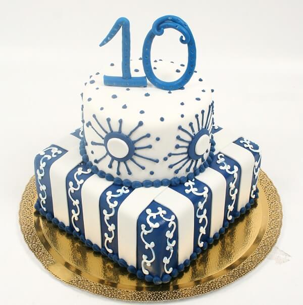 Торт на 10лет картинки