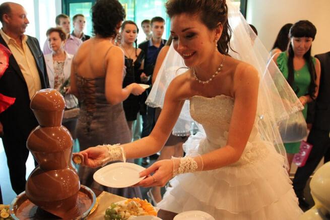 Десерт на свадьбу
