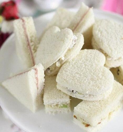 Фигурные мини-сендвичи