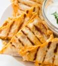 Хрустящие треугольнички с сырным салатом