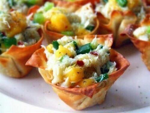 Тарталетка с салатом Каприз - 12 порций