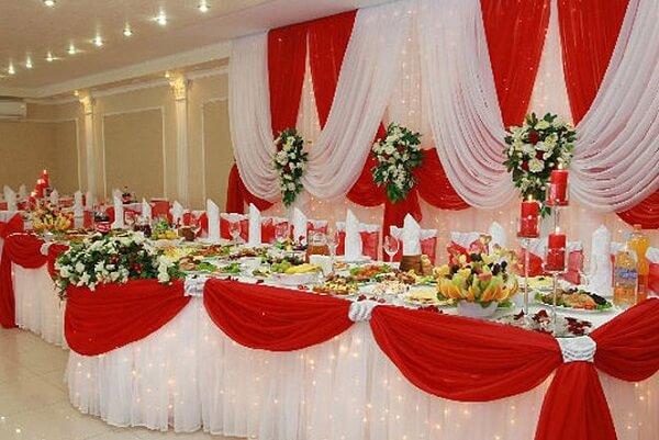 свадебный президиум