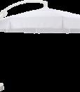 Отличный белый зонт, производства американской компании Sun Garden диаметром 4 метра. Высота 3,1 метра.