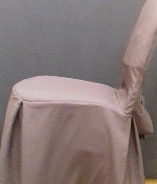Чехол для стула (коричневый)