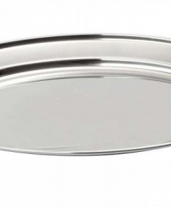 Блюдо овал металлическое 50/35 см