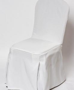 Чехол для банкетного стула (белый)