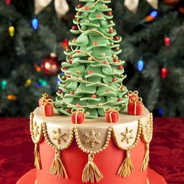 новогодний.торт фото