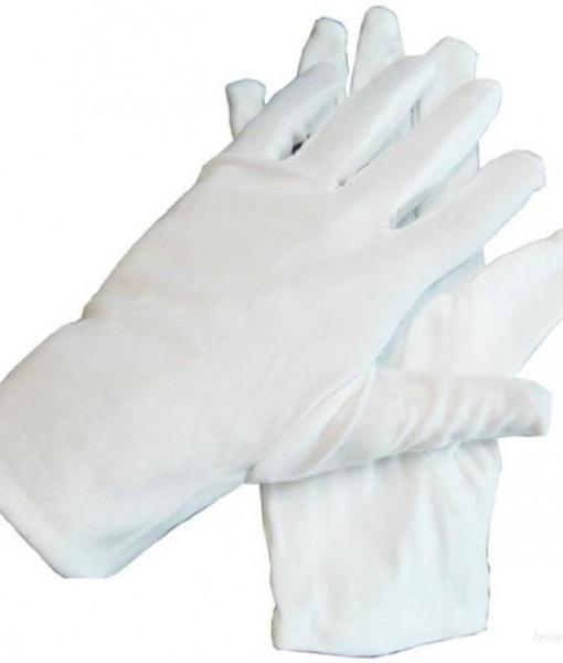 Перчатки официанта белые