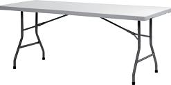 Стол фуршетный прямоугольный 76/183 пластик