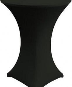 Стрейч чехол на коктейльный стол черный