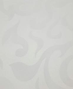 Скатерть круглая Ø 3.15м белая Жаккард