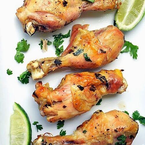 Куриные ножки в лаймовом маринаде